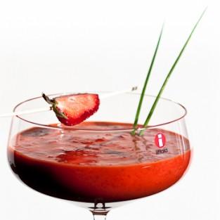 Mansikka-chiligazpacho